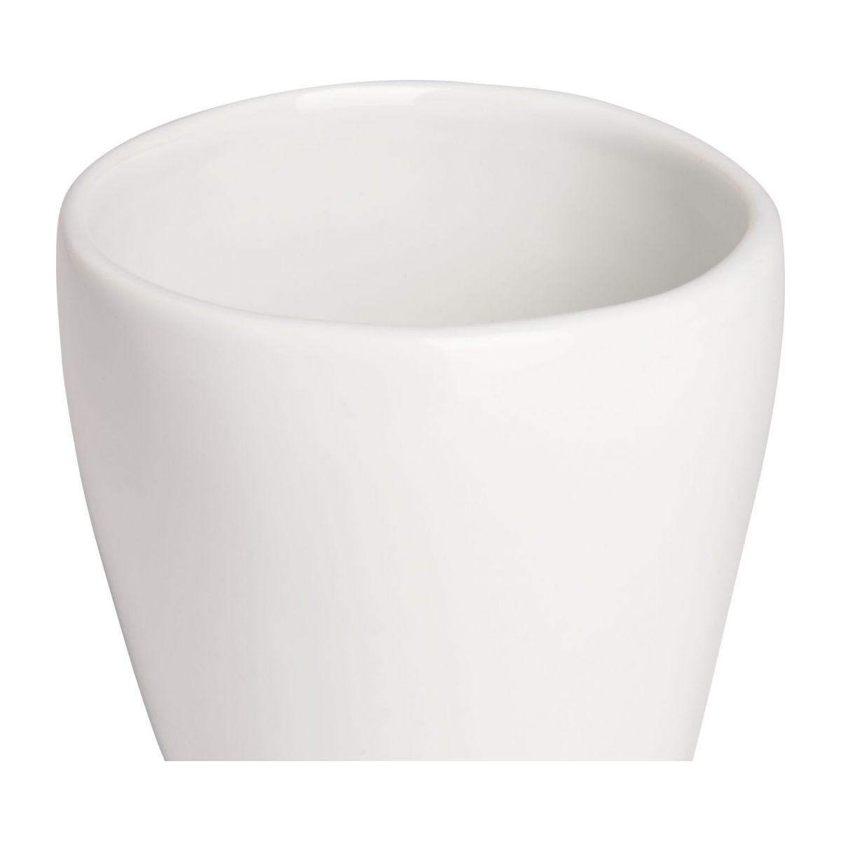 Coffee cup in porcelain, white n°3
