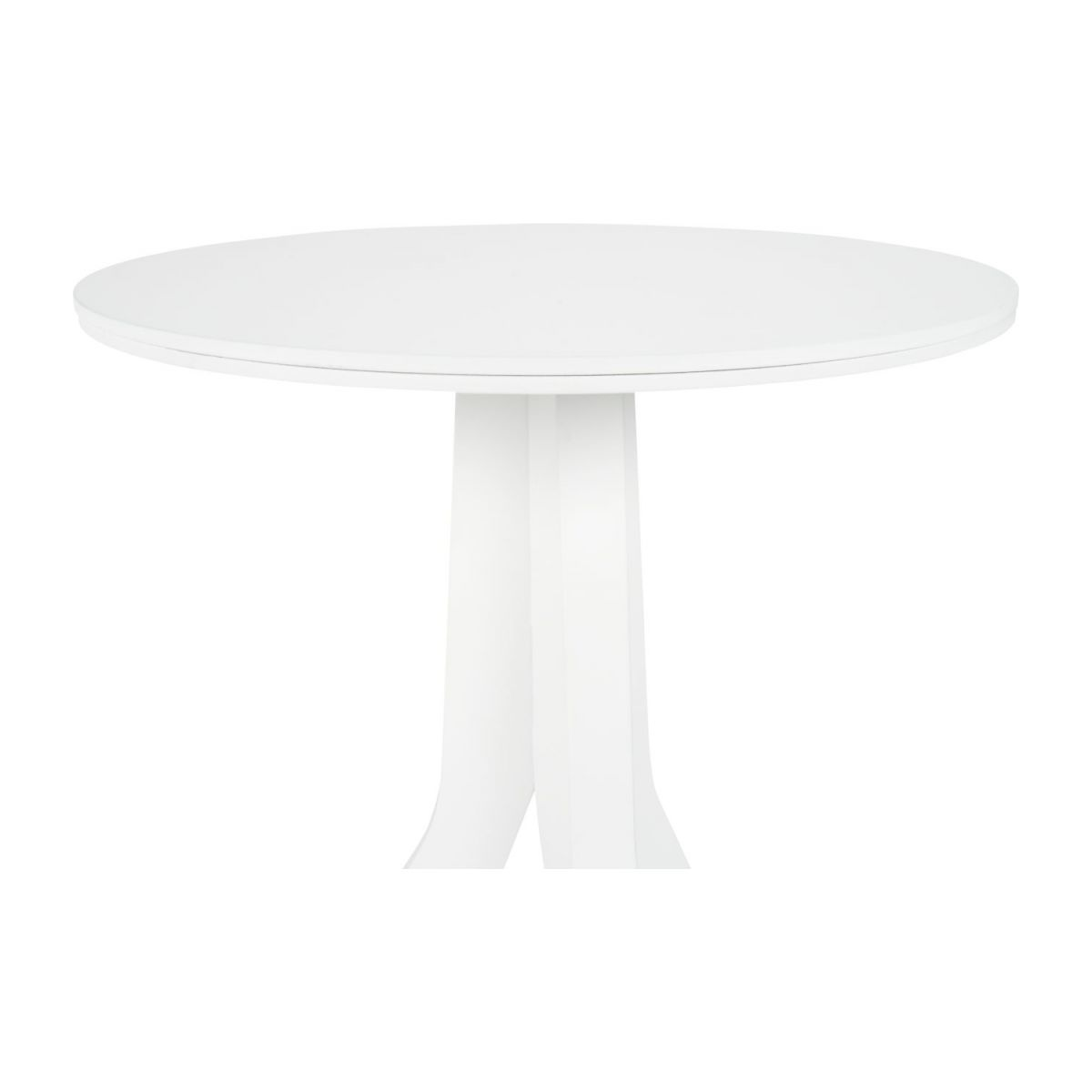 Table d'appoint en hêtre blanche n°3