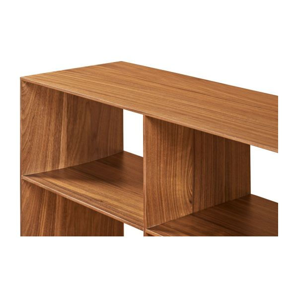 Low walnut tree shelf  n°9