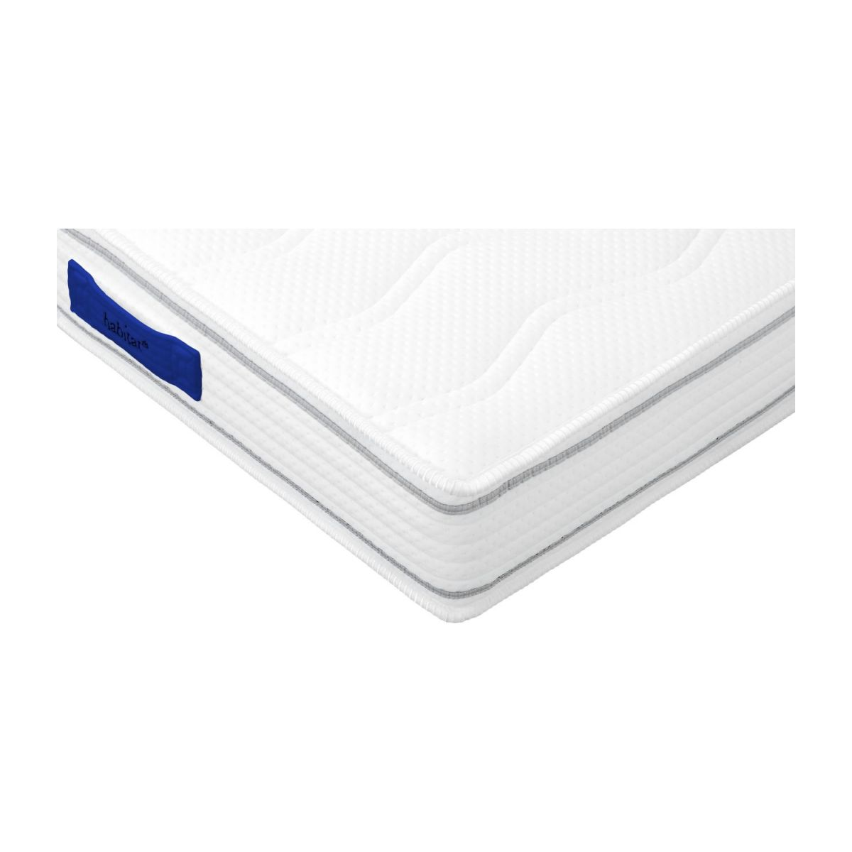 Spring mattress, width 21 cm, 80x200cm - firm support n°4