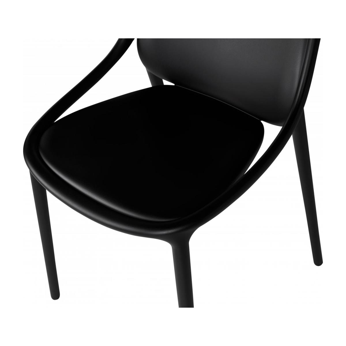 Chaise en polypropylène - Noir - Design by Eugeni Quitllet n°6