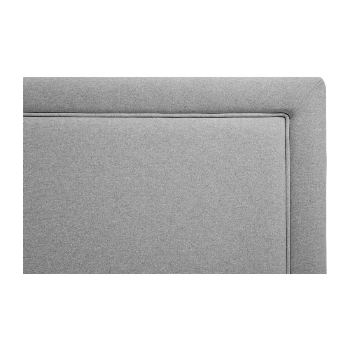 Headboard for 140cm box spring in fabric, mouse-grey n°5