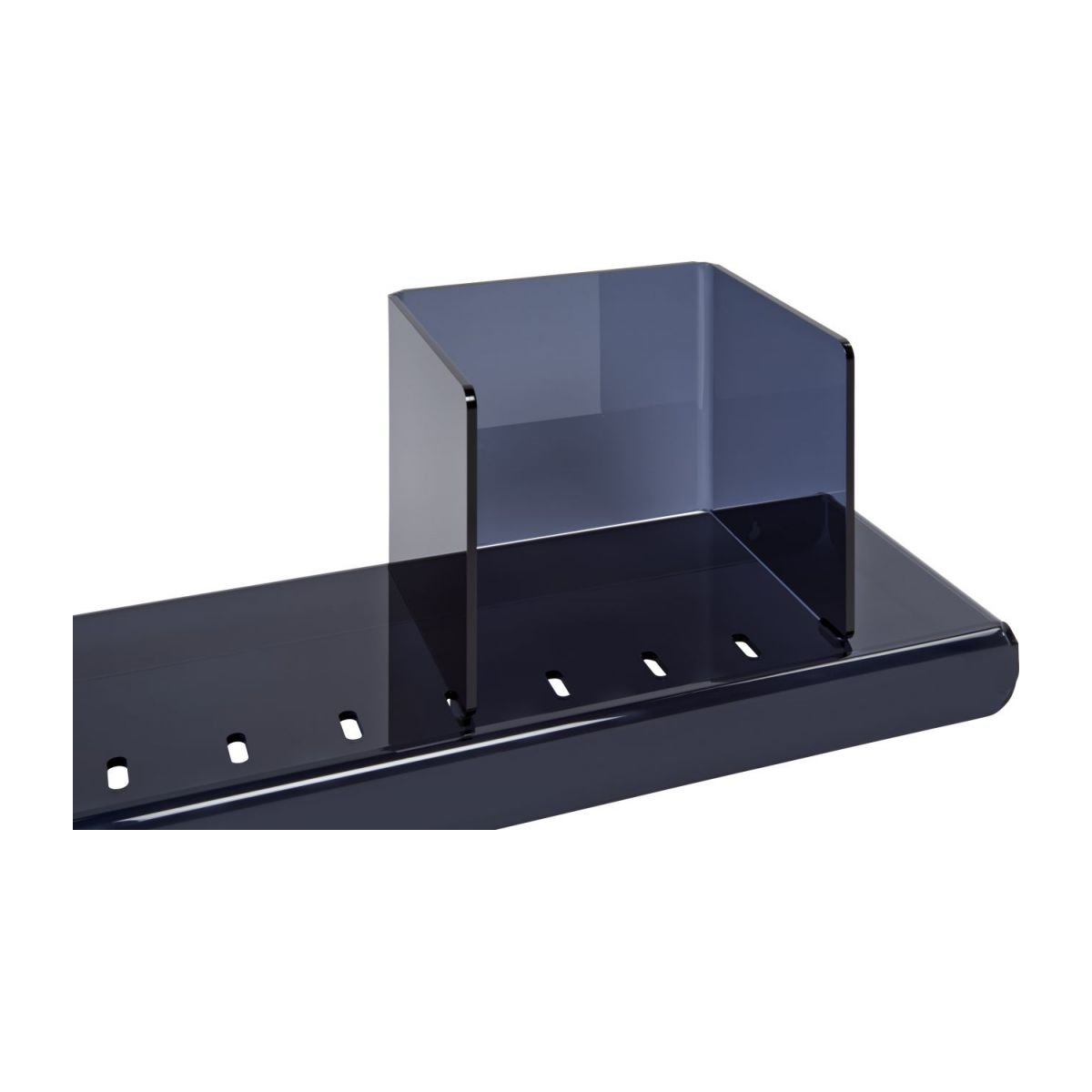 Shelf  made of acrylic, black n°4