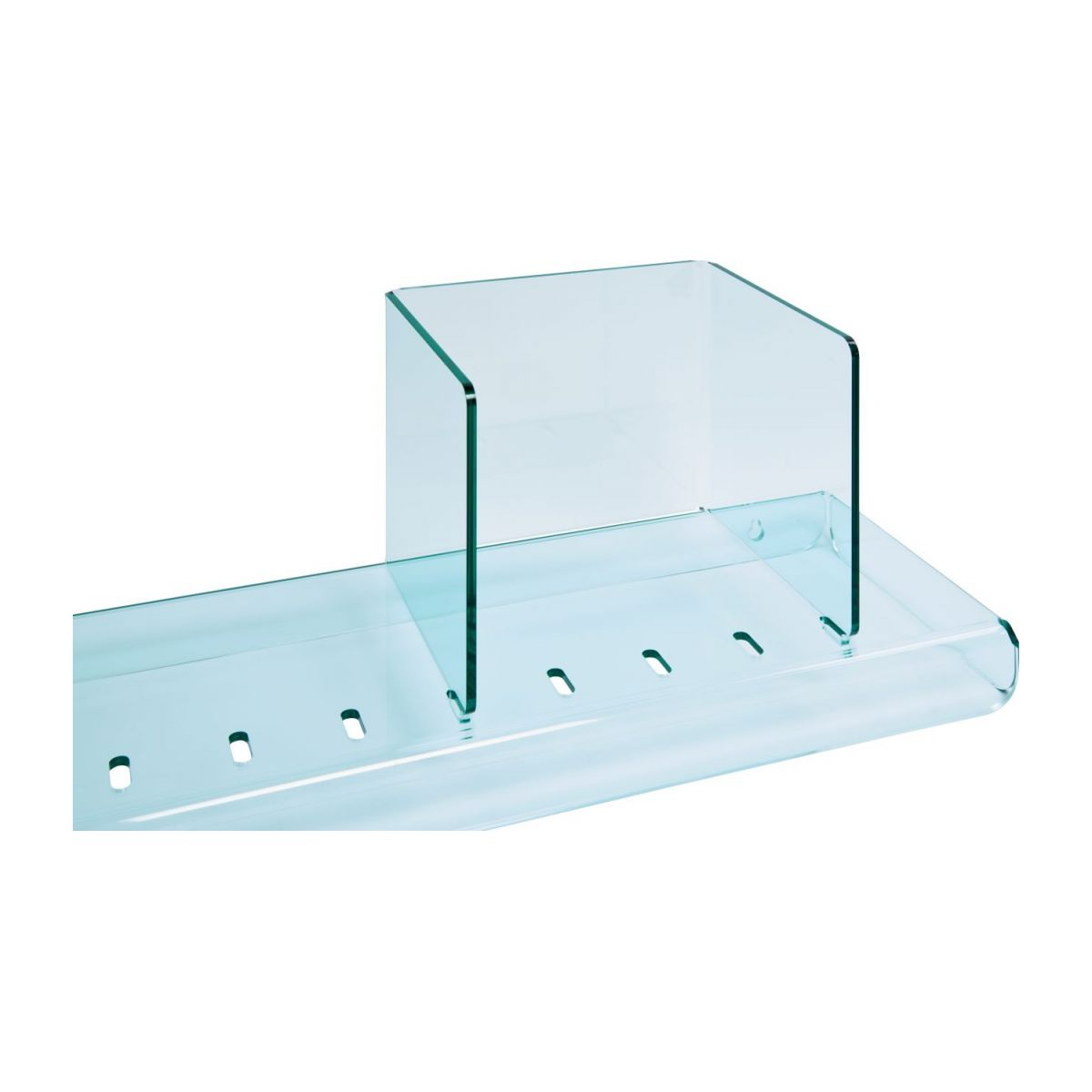 Shelf made of acrylic, transparent n°4