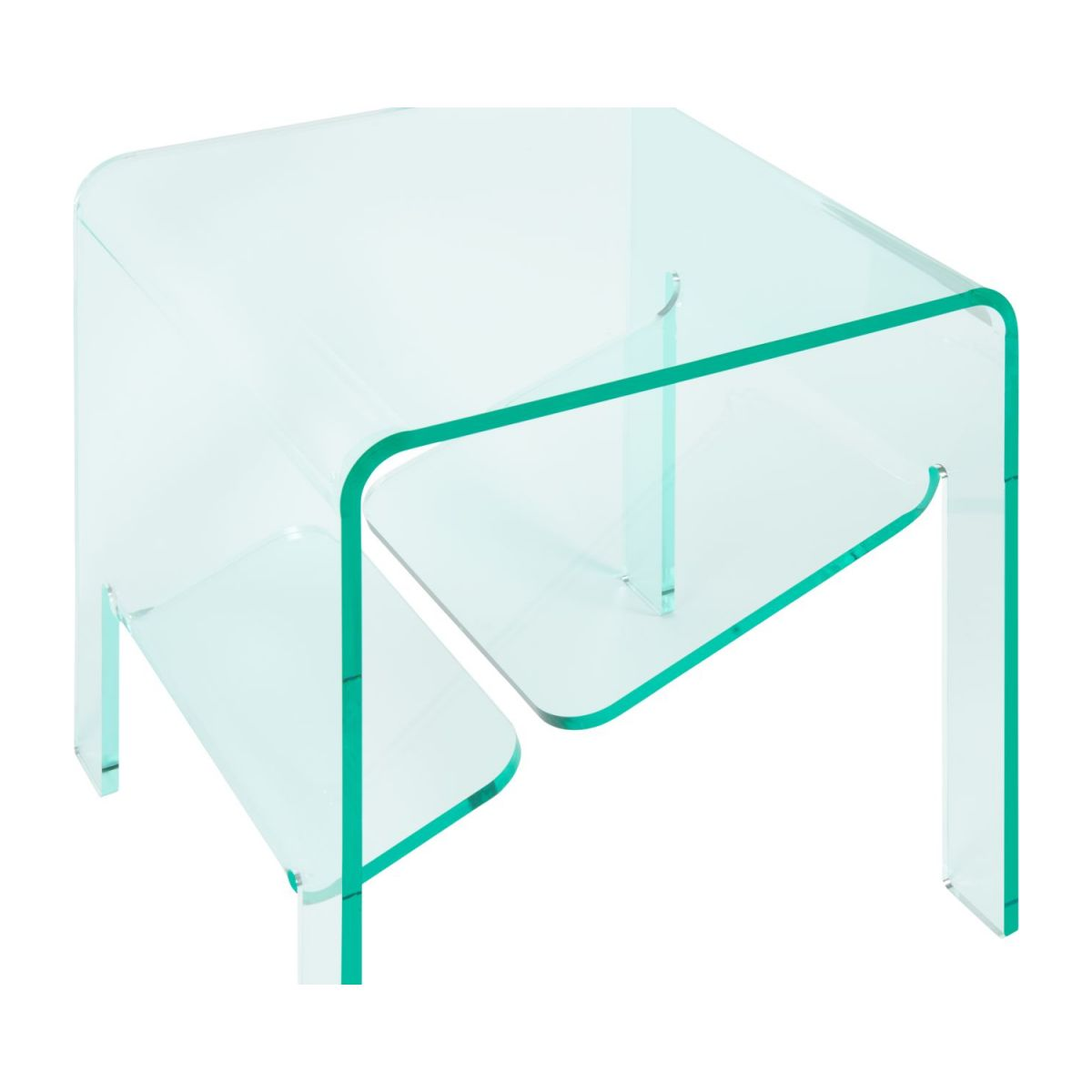 Table d'appoint en acrylique transparente n°6