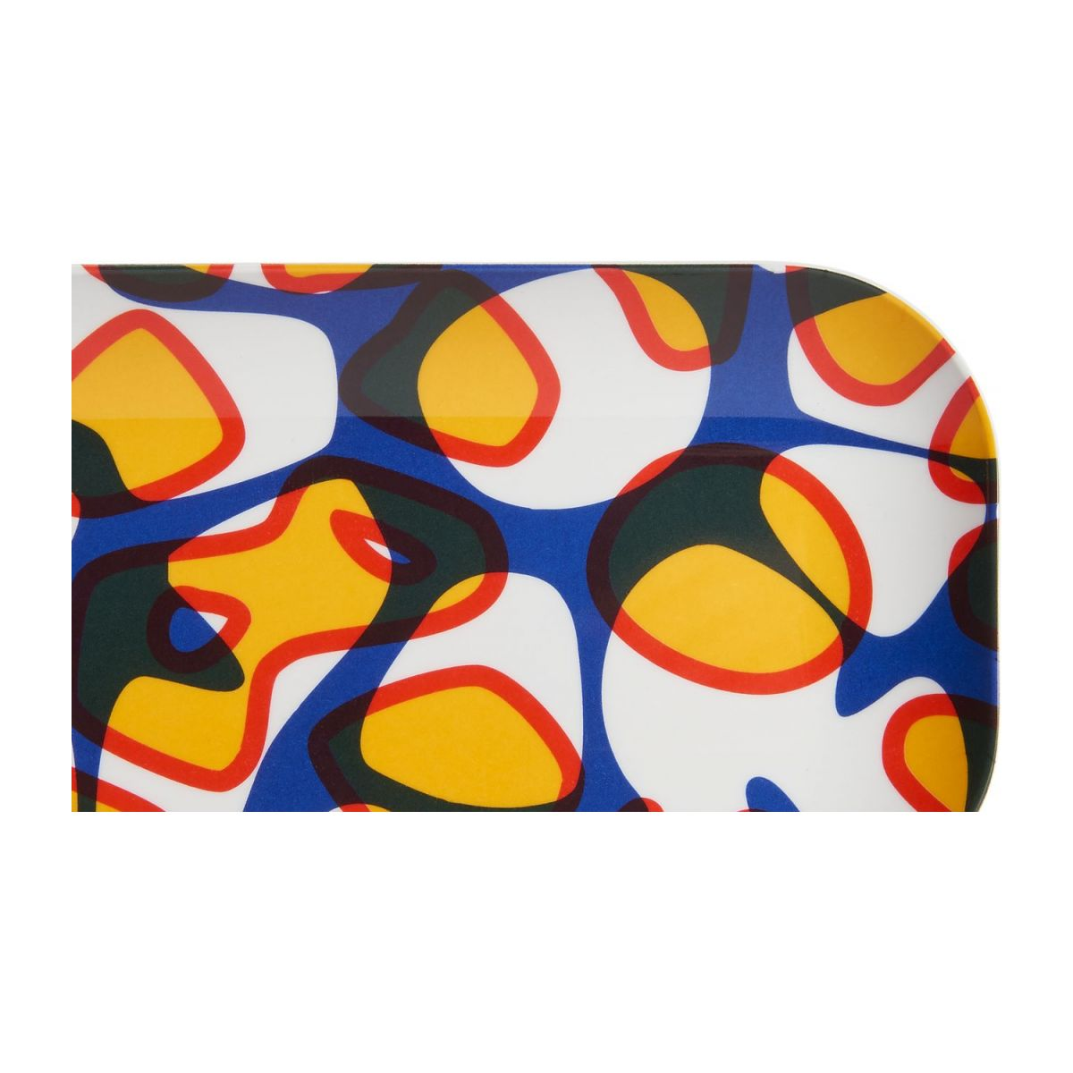 Tray made of melamine 12x25cm, with patterns n°5