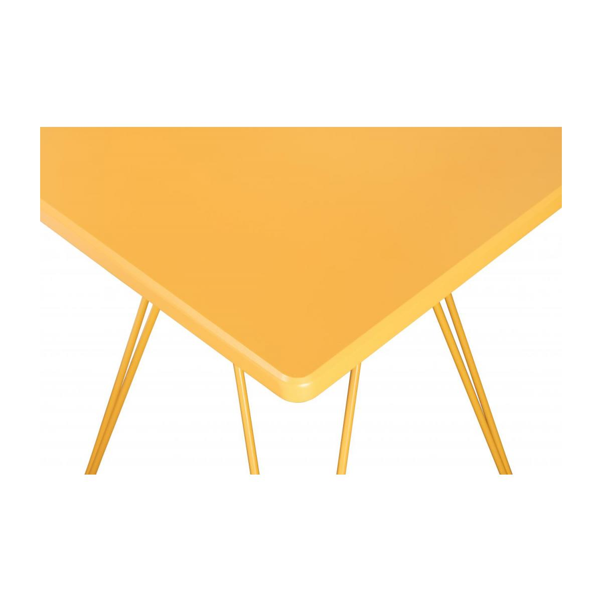 Cadix Table D Appoint Laquee Jaune Moutarde Habitat