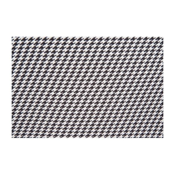 Fabric armchair, Houndstooth pattern n°7