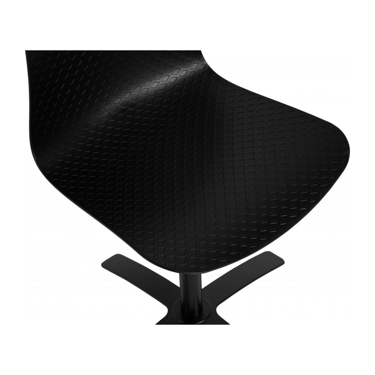 Black office chair in polypropylene n°6