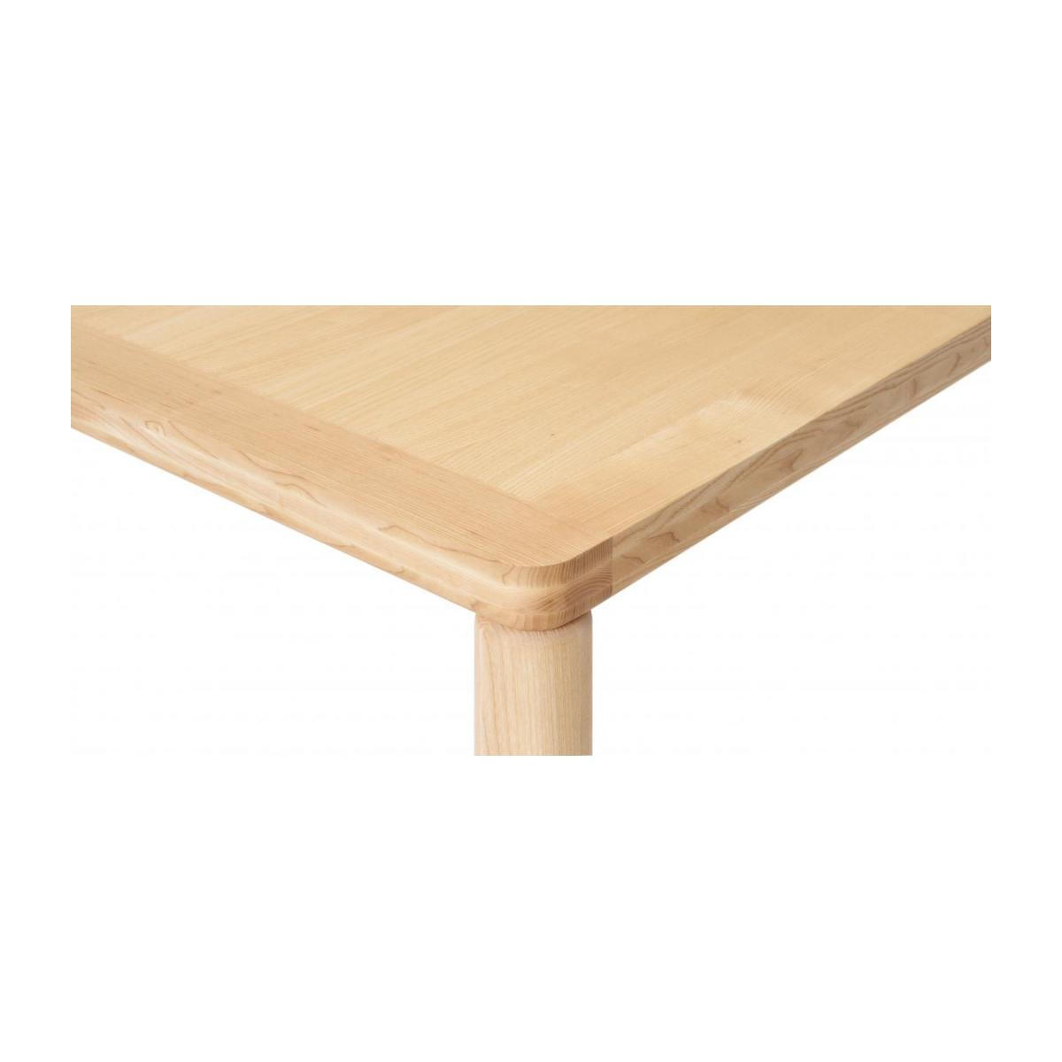 Table in clear ash wood n°4
