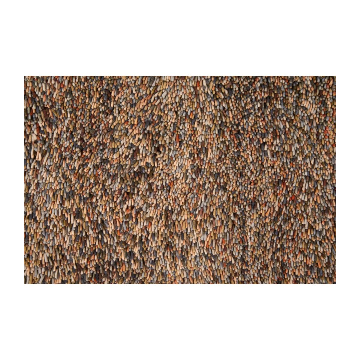 Kianne Woven Shag Carpet Made Of Wool 240x170cm With
