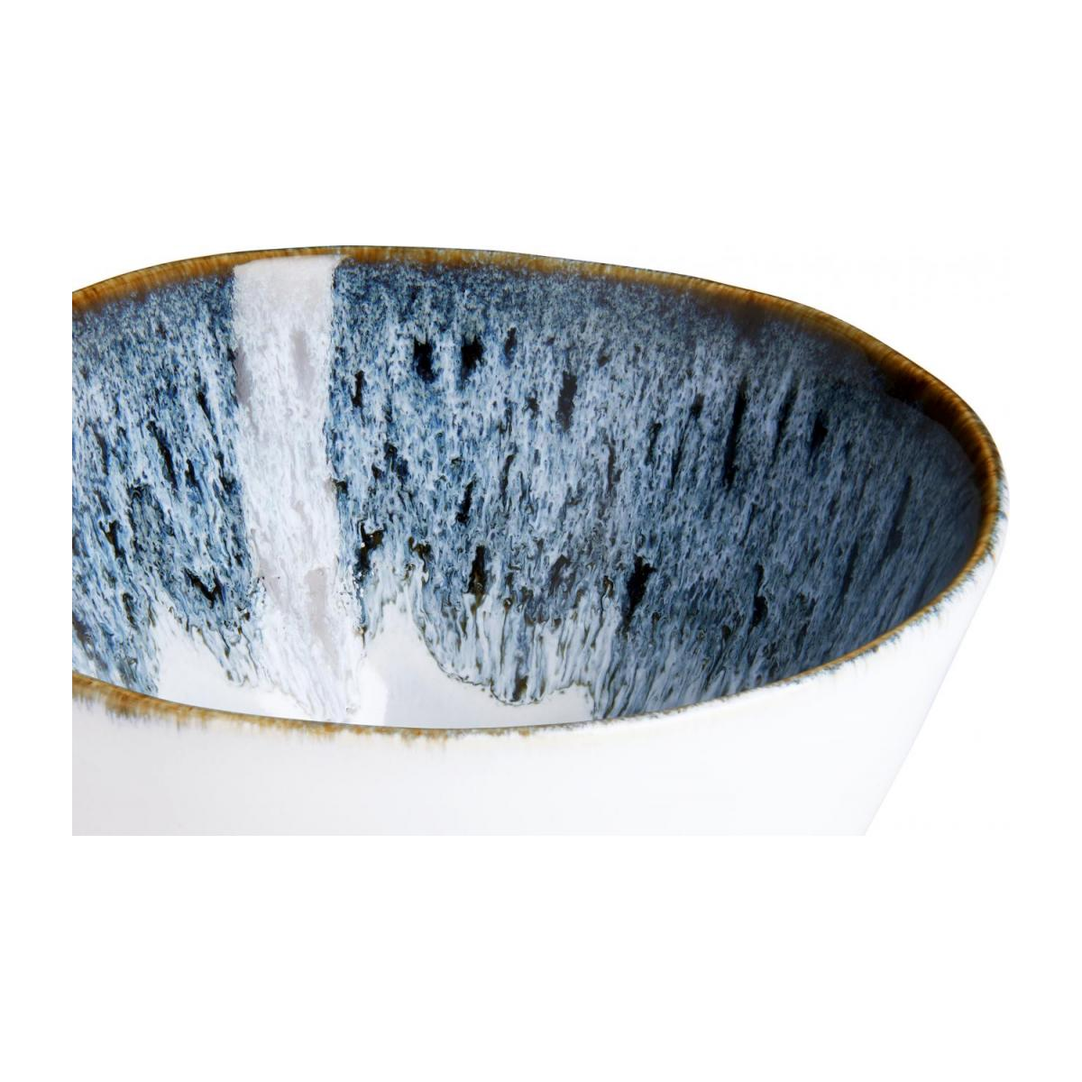 Grand Bowl made of sandstone 15cm, white and black n°3