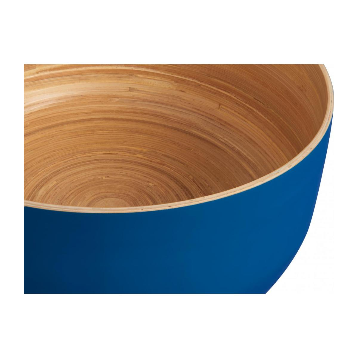 Grand Bowl made of bamboo 25cm, blue n°2