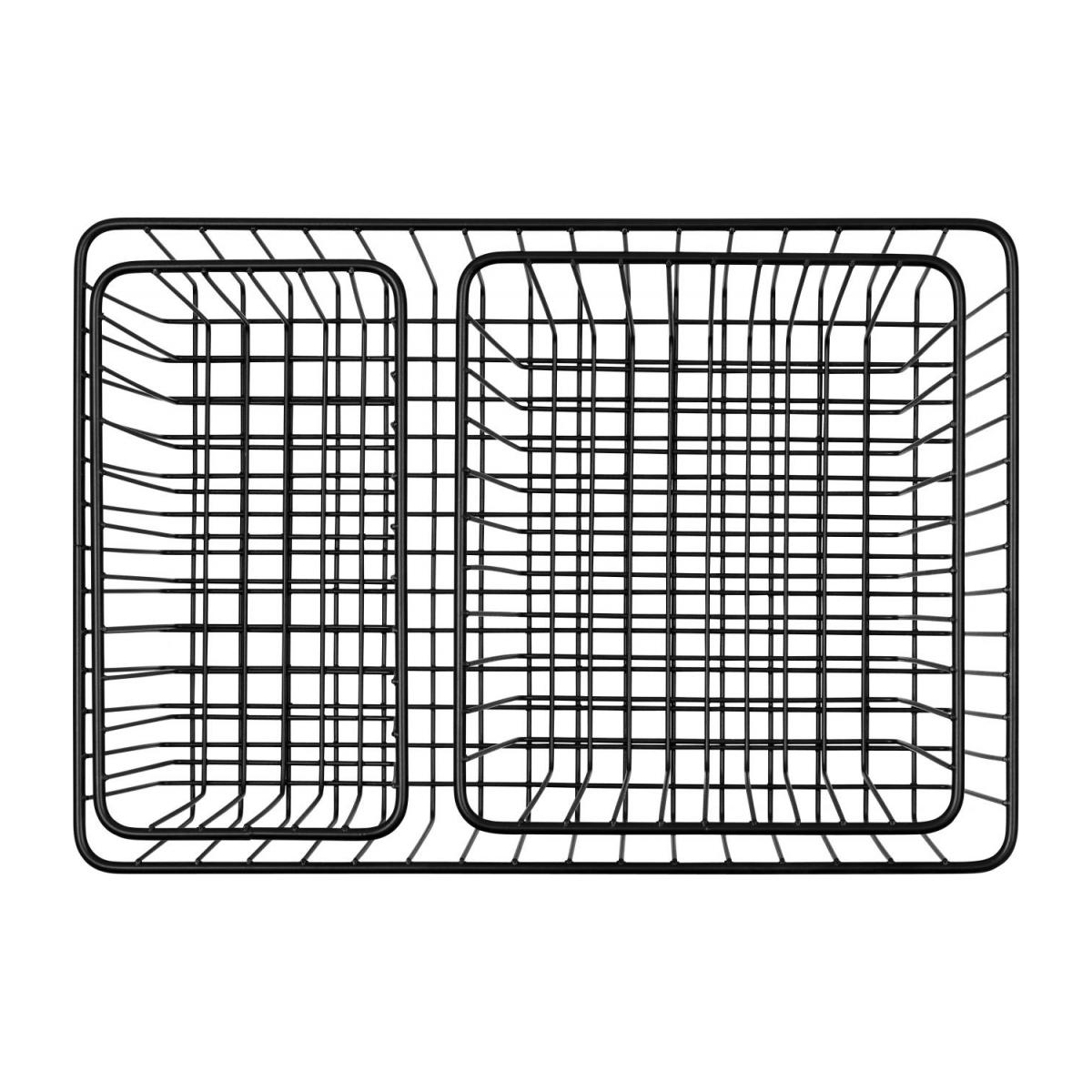 Metal Bathroom Basket Set of 3 n°4
