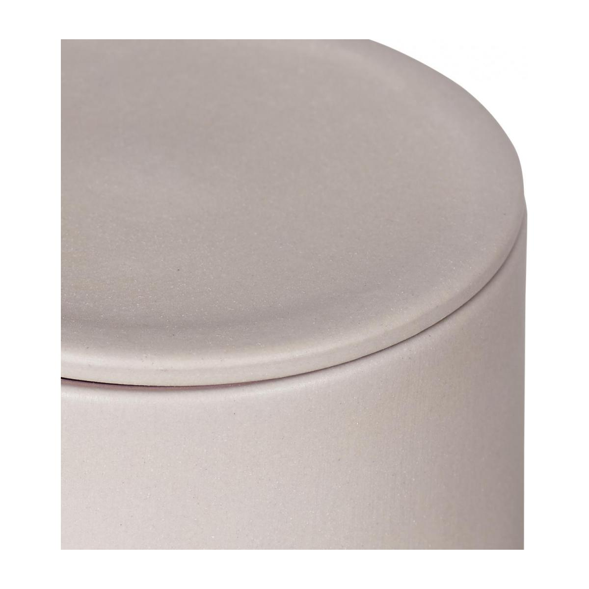 Stoneware Grey Boxes Set of 3 with lids n°4