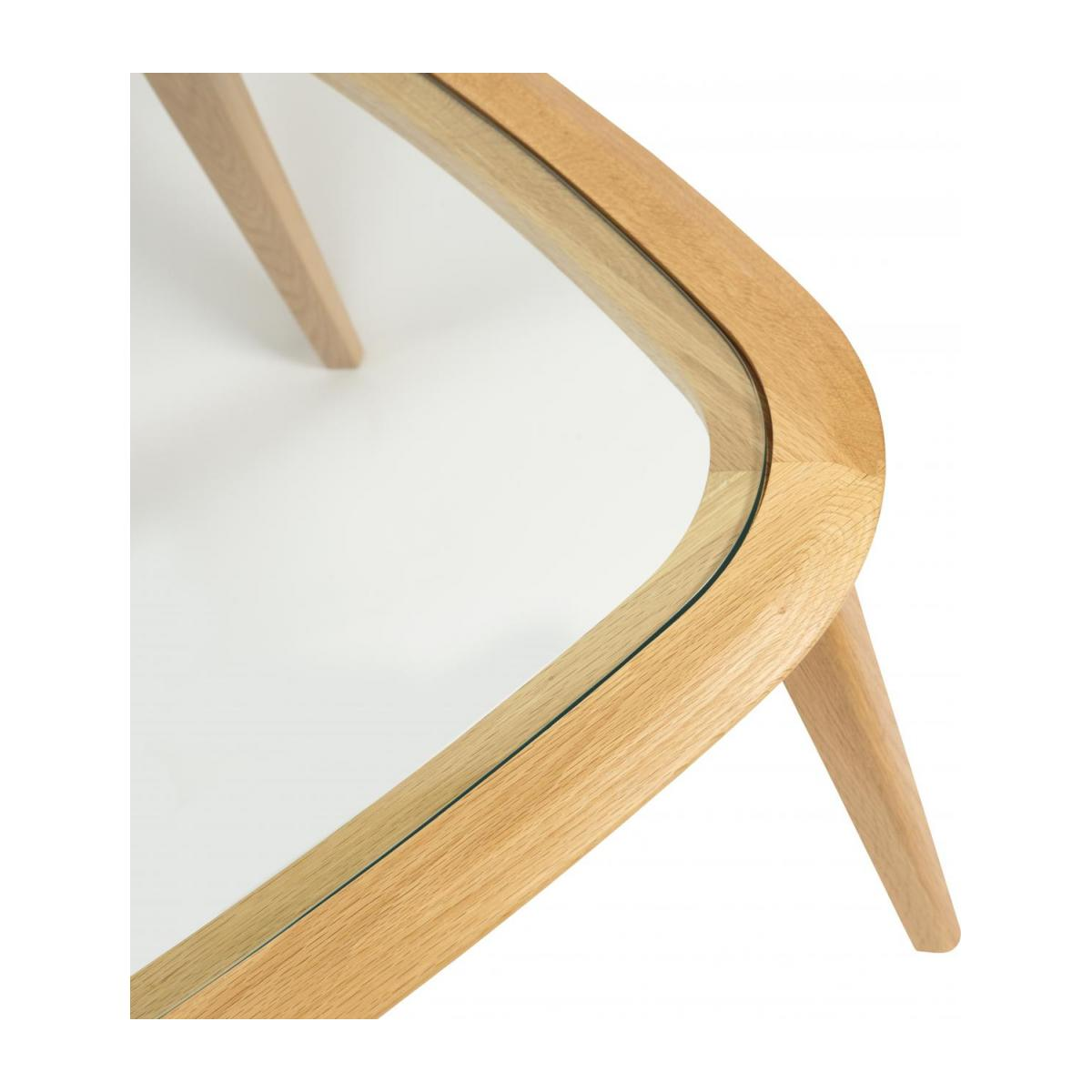 Table basse - Chêne et Verre - Design by Habitat Design Studio n°5