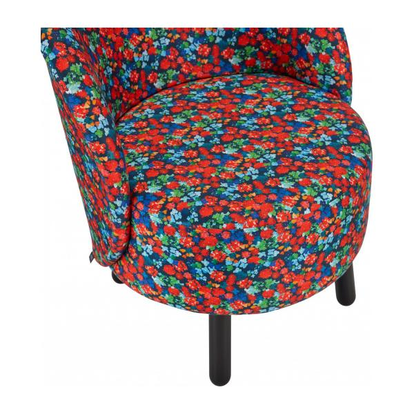 Sessel aus Samt - Muster Marjolaine - Design by Floriane Jacques n°6