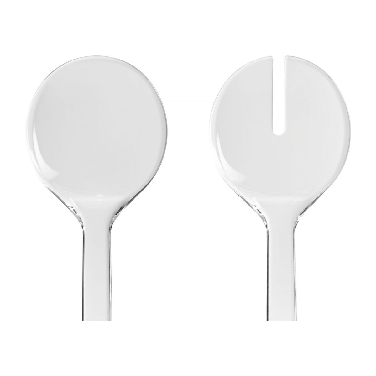 Salad cutlery, transparent n°3