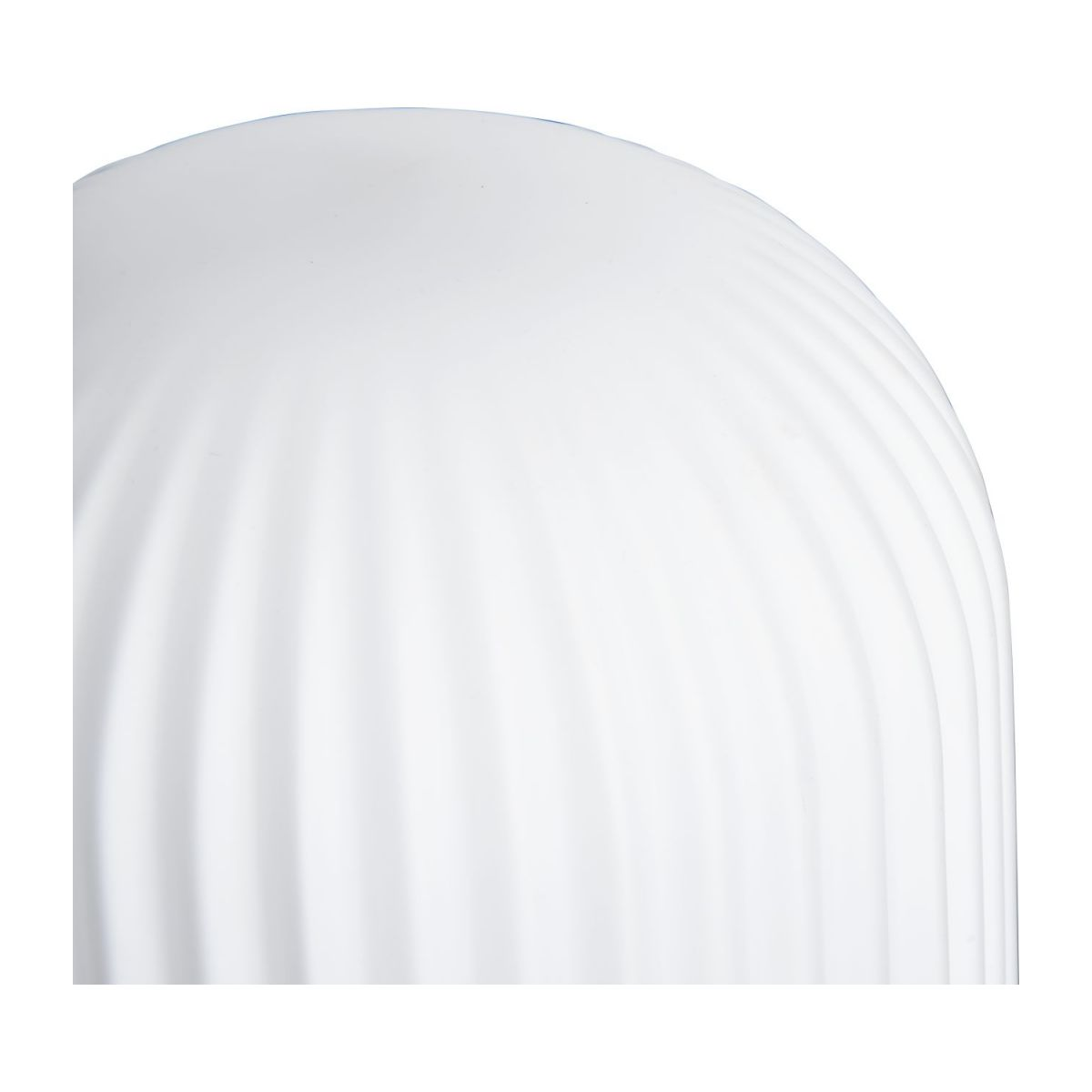 Lampe de table 32cm en verre blanc n°2