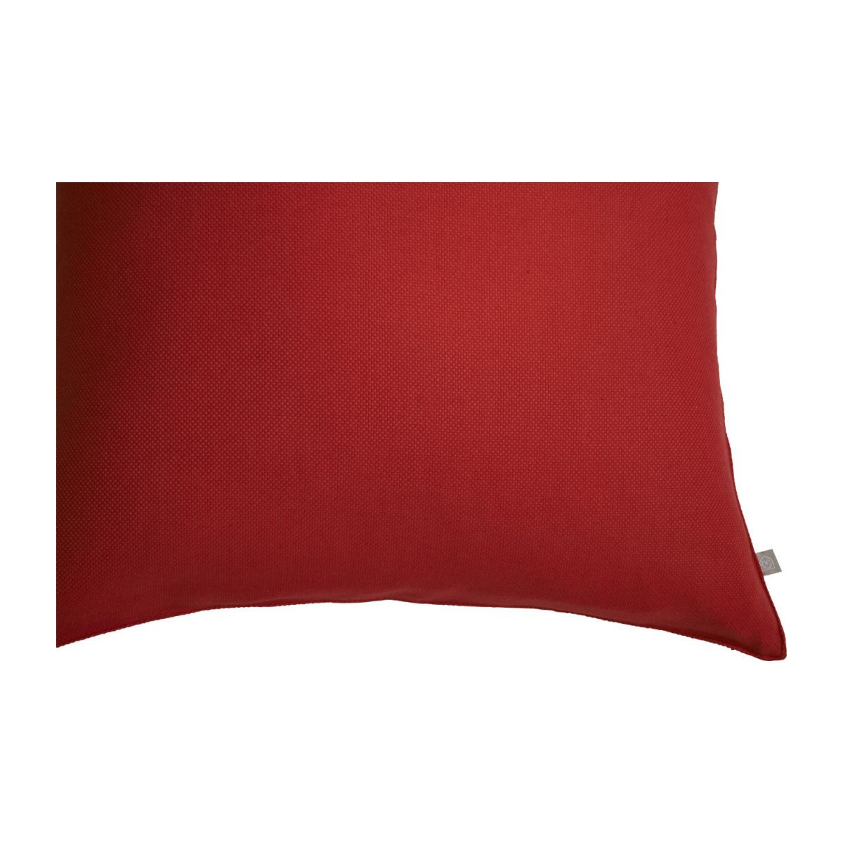 Red cushion 50x50cm n°6