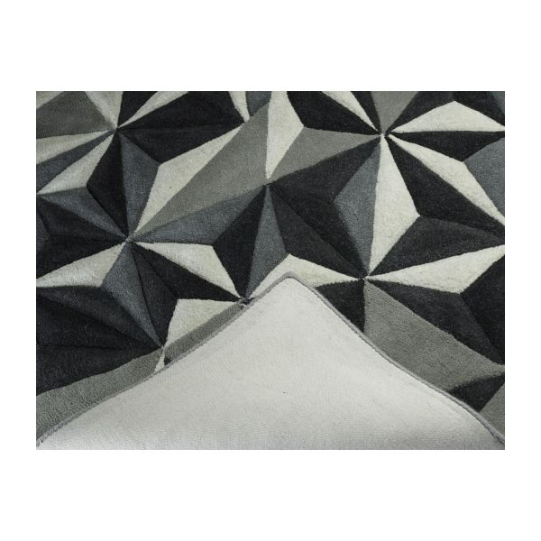 Hand-tufted wool rug 170x240 cm n°5