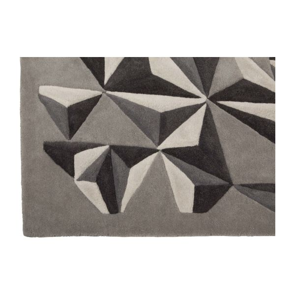Hand-tufted wool rug 170x240 cm n°4