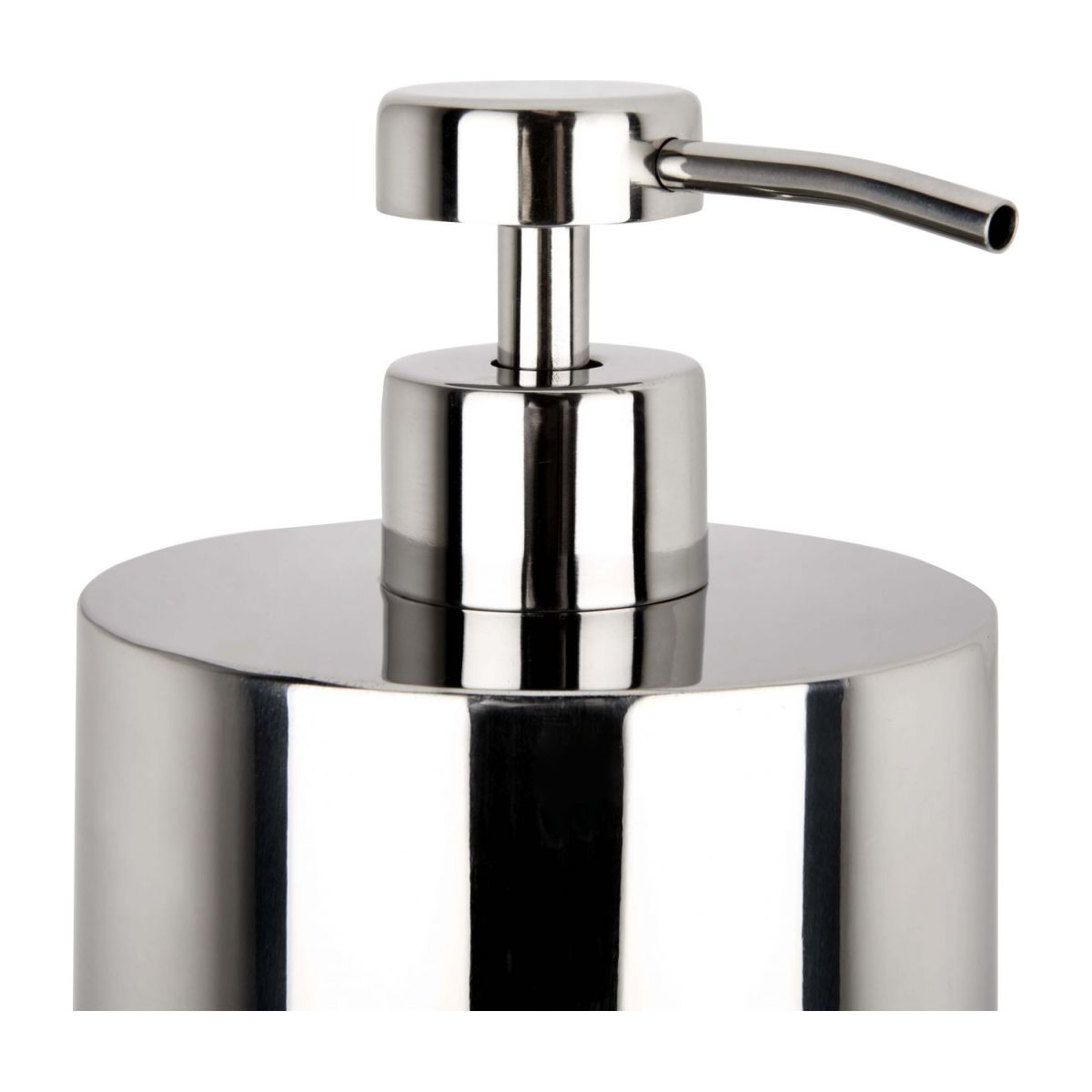 Soap dispenser in stainless steel n°6