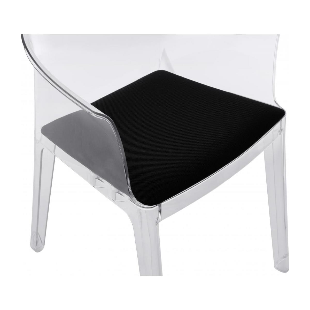 Transparent armchair in polycarbonate n°10