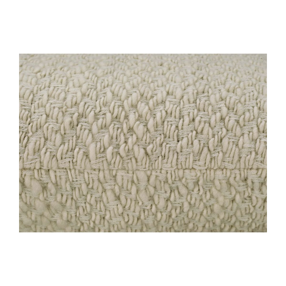 Coussin  tricot naturel 50 x 50 n°3