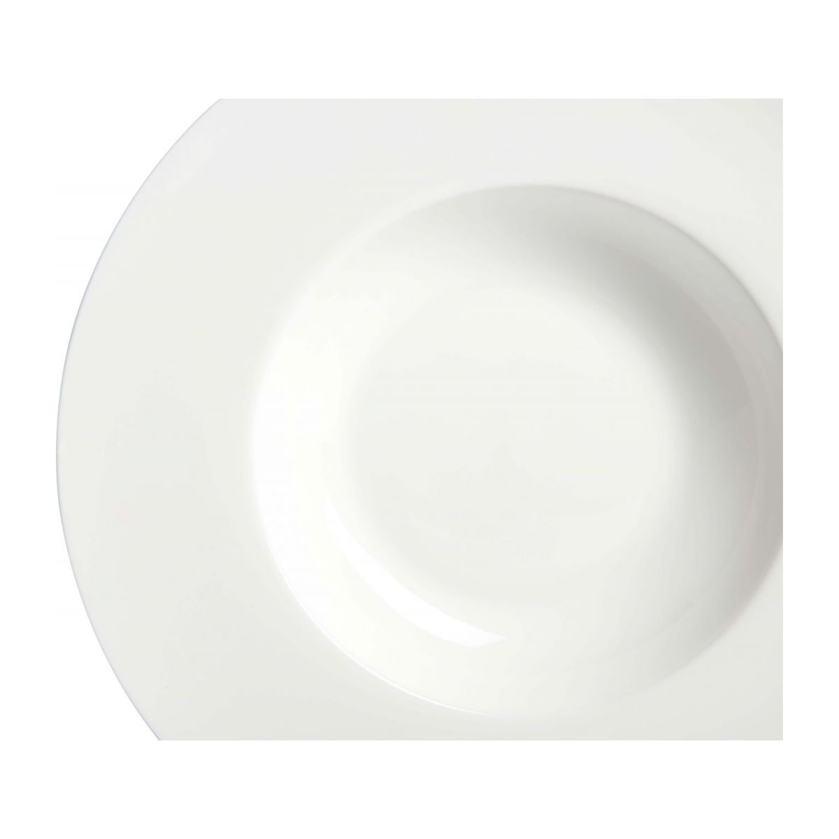 Plate for risotto in porcelain n°4