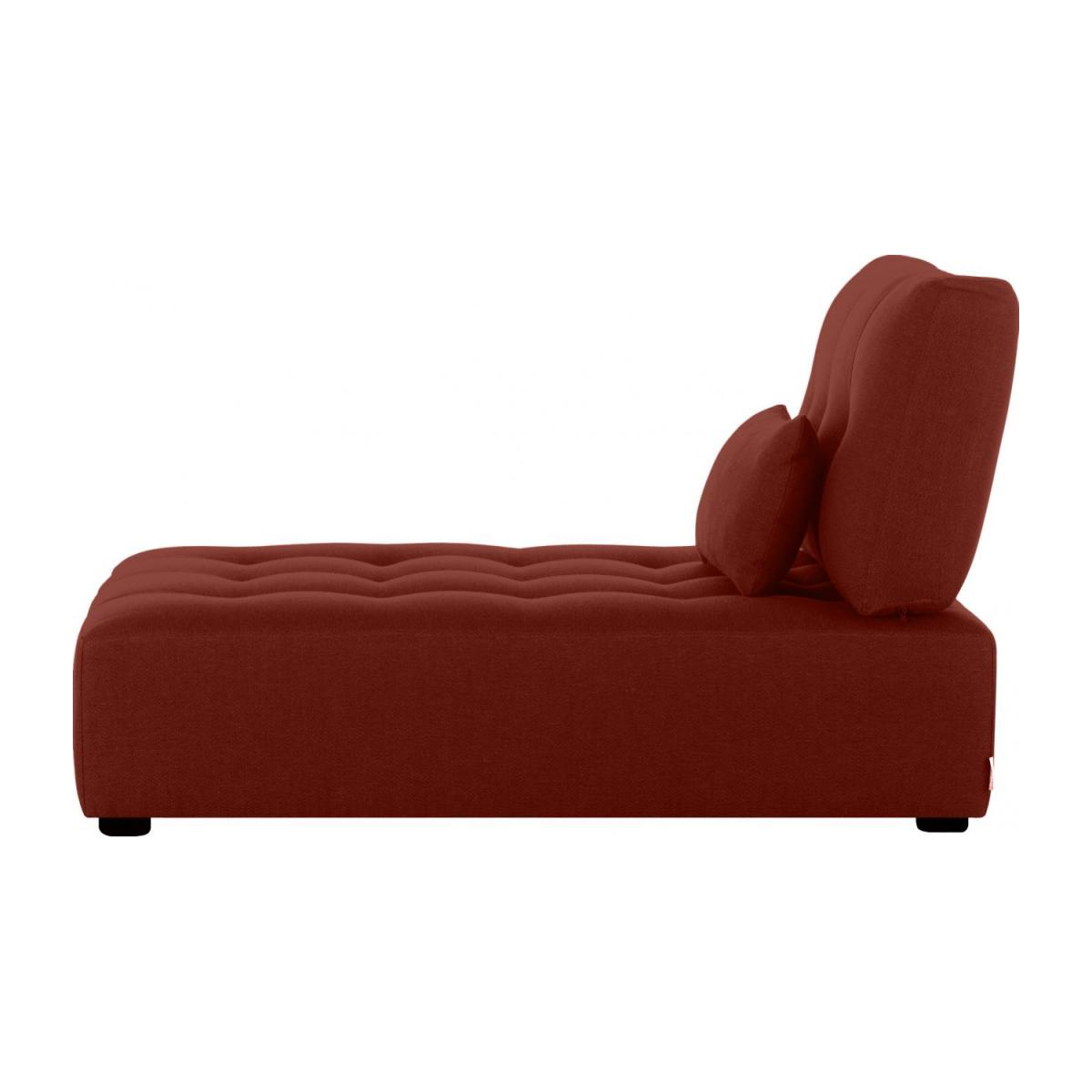 Chaiselongue-Tela-Burdeos n°3