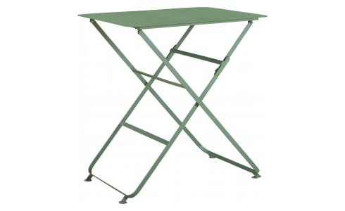 Mesa plegable de metal - Kaki