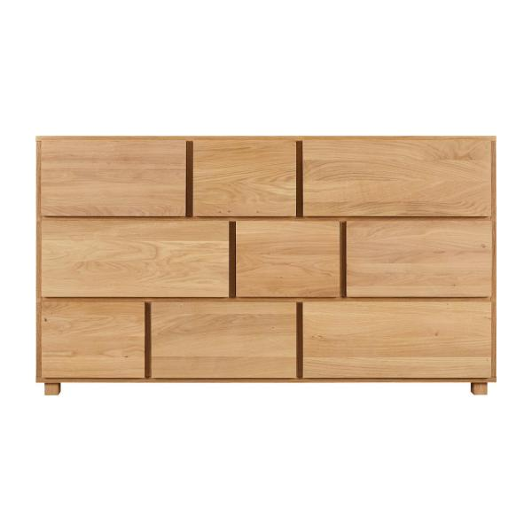Oak chest of drawers n°4