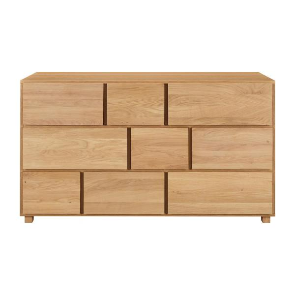 Oak chest of drawers n°3
