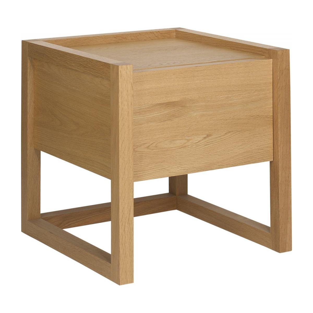 Oak bedside table n°1