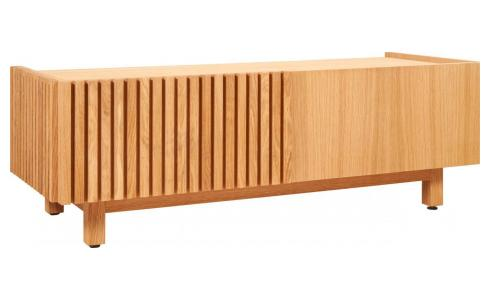 Audio video oak stand