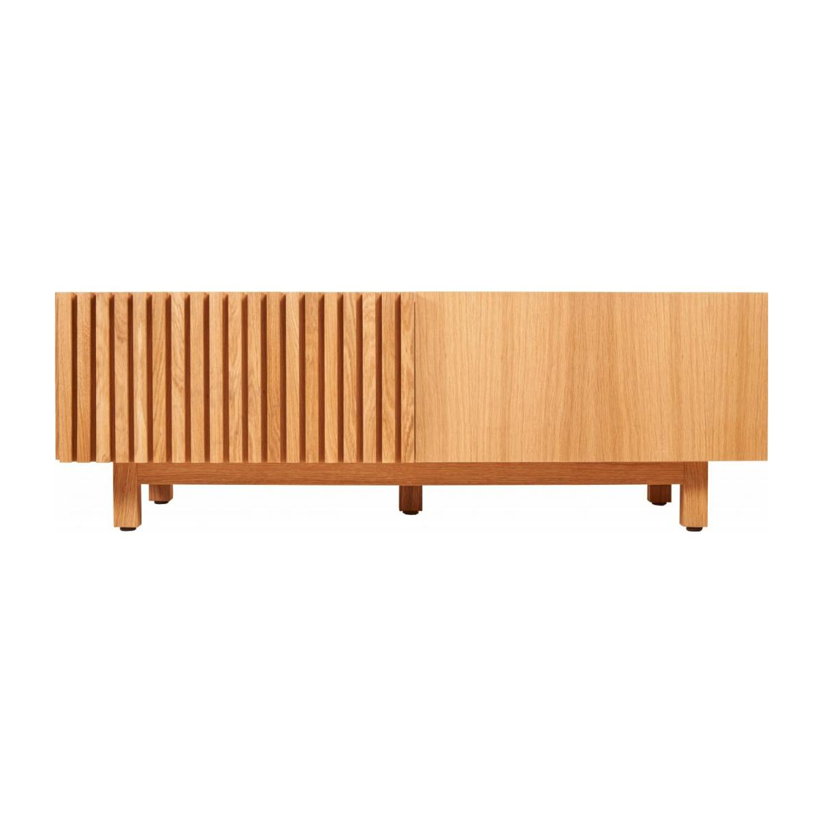 Audio video oak stand n°4