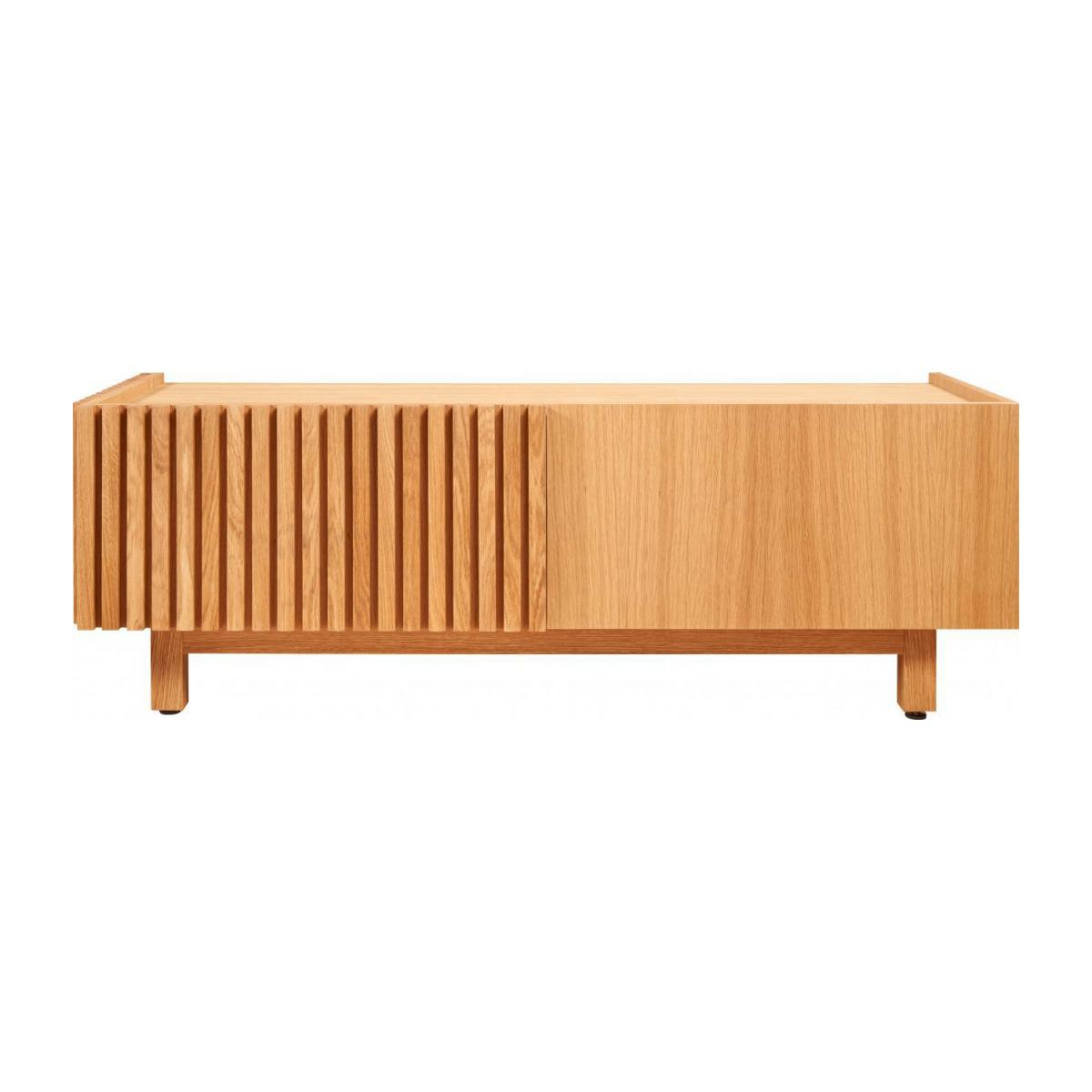 Audio video oak stand n°3