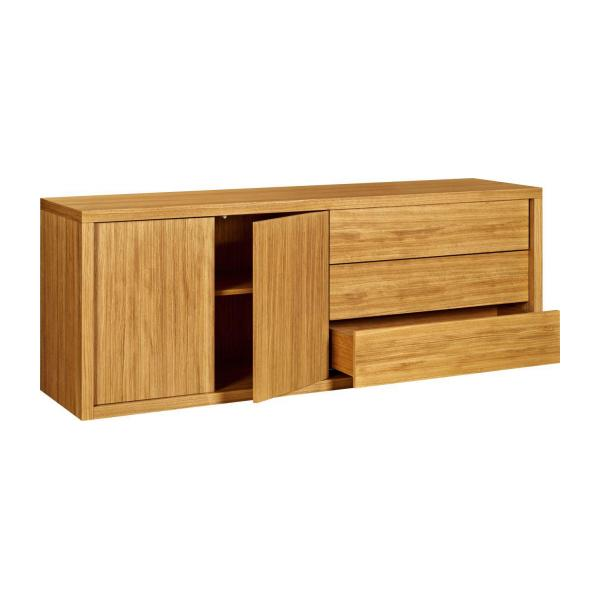 Oak storage unit n°4