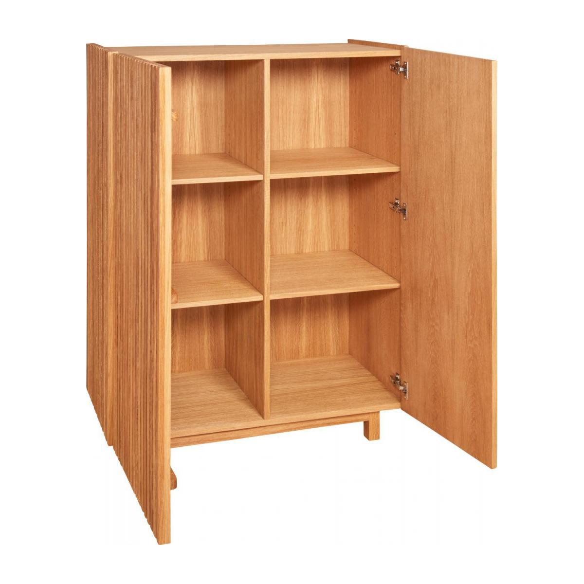 2 doors oak high storage n°3