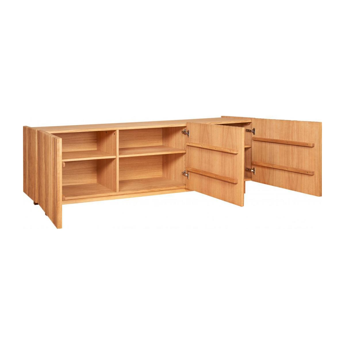 3 doors oak buffet n°3