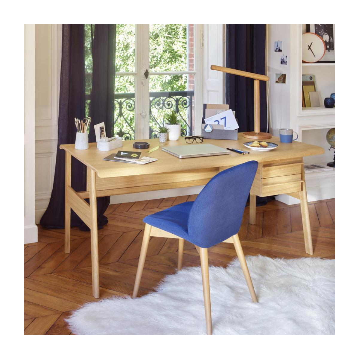 Big oak desk - Design by Joachim Jirou Najou n°2