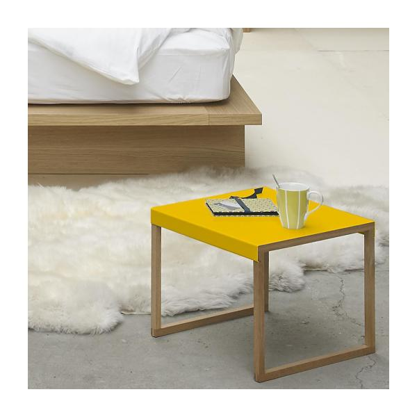 KILO/TABLE D'APPOINT MOUTARDE n°2