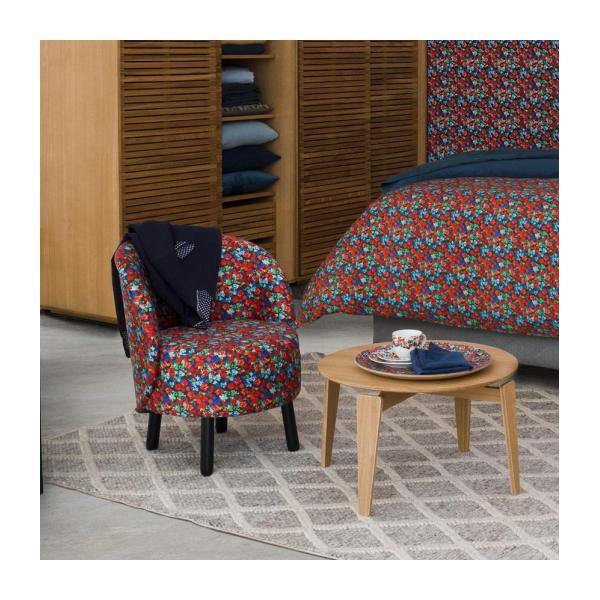 Sessel aus Samt - Muster Marjolaine - Design by Floriane Jacques n°2