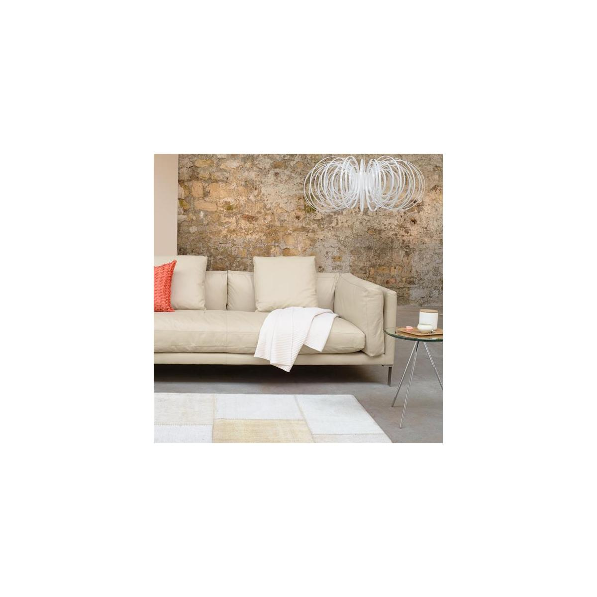 Leather right-arm chaise longue n°2