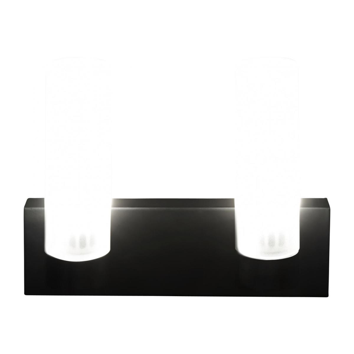 Applique LED norme IP44 matte - 2 lumières n°4
