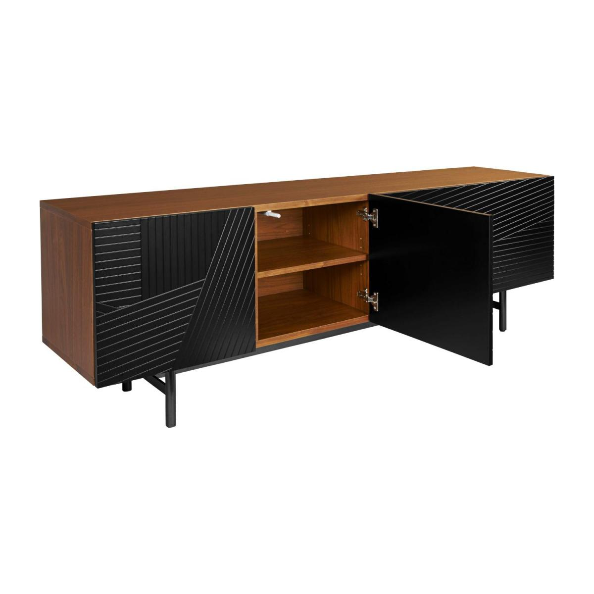 Low walnut sideboard n°3